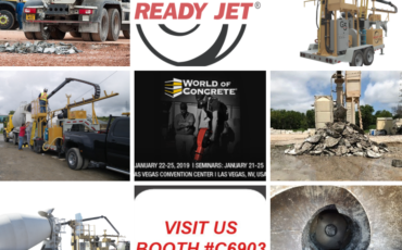 Ready Jet is going to World of Concrete