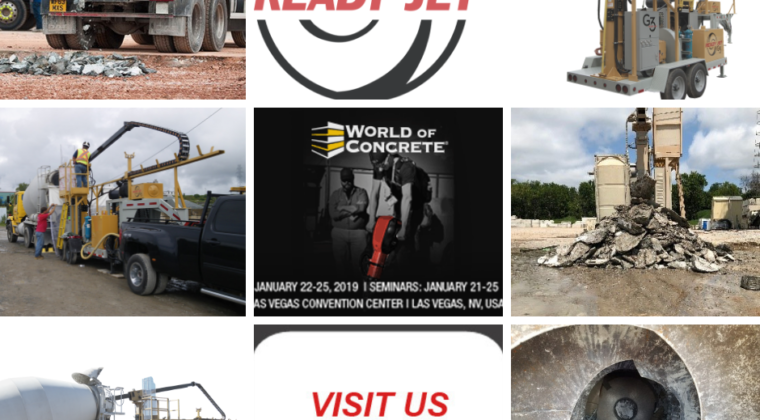 Ready Jet - World of Concrete
