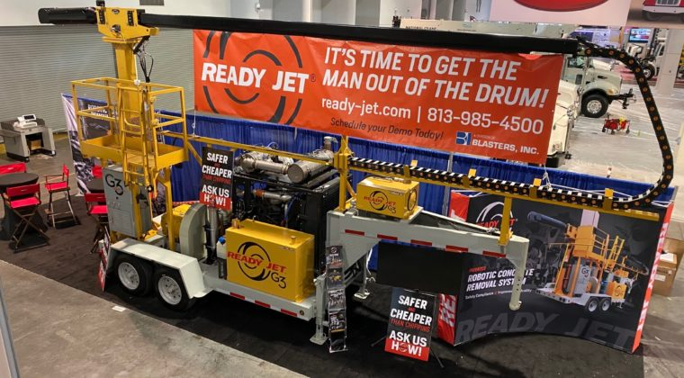 Ready Jet is at ConExpo 2020