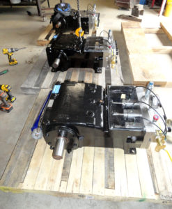 CPO pumps getting ready for shipment.