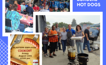 Blasters Employee Cookout
